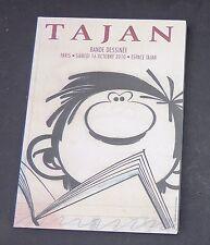 Catalogue Vente BD TAJAN du 16 Octobre 2010. Franquin.  Superbe