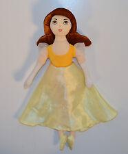 "12"" Belle Yellow Dress Doll Disney Princess Plush Stuffed Figure Beauty & Beast"