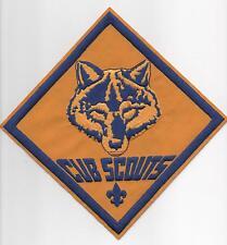 "Cub Scouts Jacket Patch (Diamond) w/ new ""Since 1910"" Slogan Backing, Mint!"