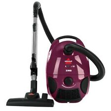 Brand New Bissell Zing Bagged Canister Vacuum, Purple, 4122 - Corded