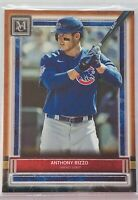 ANTHONY RIZZO 2020 TOPPS MUSEUM COLLECTION COPPER CARD #81 CHICAGO CUBS MLB