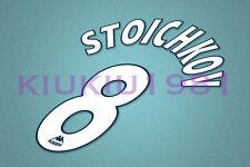 Barcelona Stoichkov #8 1997-1998 Homekit Nameset Printing