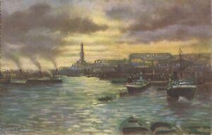 Genova, ITALY - Harbor & Lighthouse
