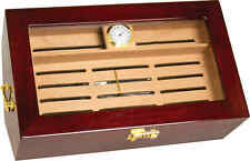 Cigar Humidor w/ Hygrometer & Humidification System Spanish Cedar Wood BE28