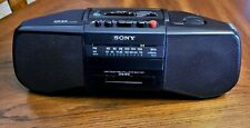 Sony Cfs-B15 Am/Fm Radio / Cassette Boombox Excellent Condition Everything works
