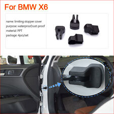 4 Pcs Car Door Arm Rust waterproof Stopper Buckle Protection Cover For BMW X6