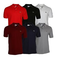 Lacoste Men's L.12.12 Classic Short Sleeve Piqué Polo Shirt
