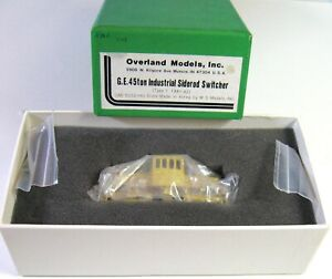OVERLAND  45 Ton SIDE ROD Industrial Switcher OMI-5032 HO Brass   ***Excellent**