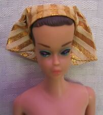 "New listing Vintage 1963 Barbie Original ""Fashion Queen"" w/ 3 Interchangeable Wigs"