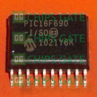 9PCS MCU IC MICROCHIP DIP-20 PIC16F690-I/P PIC16F690