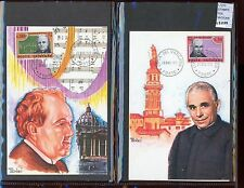 STAMPS 2 CARD MAXIMUN VATICAN CITY POPE (L7273)