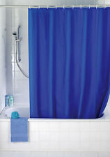 == Duschvorhang Uni Night Blue Peva = Neu / OVP ==