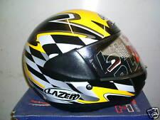 Lazer Attack Race Yellow/Black/Silver S XL 61-62