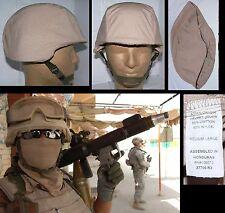 F  NEUF : Couvre casque US sable désert contractors Irak pour PASGT / Taille M/L