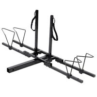 New 2 Bike Bicycle Carrier Hitch Receiver 2' Heavy Duty Mount Rack Truck SUV
