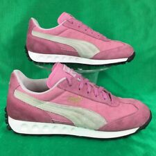 retro 70's PUMA EASY RIDER III 3 pink suede sneakers/shoes . EU40 women's 9