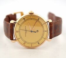 VACHERON & CONSTANTIN VINTAGE 18K ROSE GOLD MENS WATCH CIRCA 1940'S
