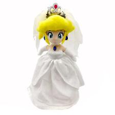 """Super Mario Odyssey Peach Princess Wedding Dress Plush Toy Stuffed Doll 13"""""""