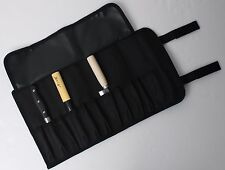 """BIGSALE 11-Pocket 17"""" Portable Knife Carry Case Small Pouch Bag Folded Knives"""