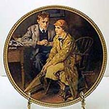 Rediscovered Women Series by Knowles Norman Rockwell Collector Plates with Certs