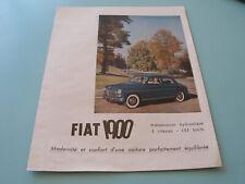 PUBLICITE PRESSE VINTAGE FIAT 1900
