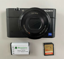 Sony Cyber-shot DSC-RX100 20.2MP Digital Camera ZEISS Lens