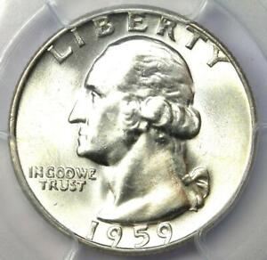 1959-D Washington Quarter 25C - PCGS MS67 - Rare in MS67 Grade - $1,100 Value!