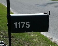 """Address Mailbox Numbers 3"""" Highly Reflective Vinyl (2 sets of your address #s)."""