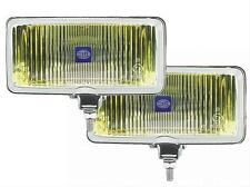 Hella Model 550 Lights 55W Rectangular Amber Lens 005700881