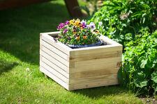 Blumentopf, Blumenkasten, Pflanzkasten auf HOLZ ! HIT 40  Rechteckig