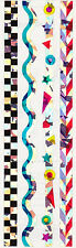 Mrs. Grossman's Stickers - Sparkle Lines - Wavy, Shapes, Checkered - 3 Strips