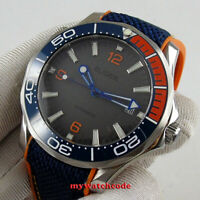 41mm bliger gray dial sapphire glass date Automatic chronometer mens Watch D336