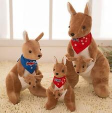 20cm Adorable Kangaroo Collection Plush Stuffed Animal Toy Doll Gift Blue