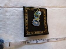 traub CO inc New Jersey state pin navy ship bird lighthouse tie tac lapel hat