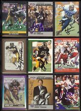 CHUCK NOLL *DECEASED* Pittsburgh Steelers 1990 Pro Set SIGNED / AUTOGRAPH Card