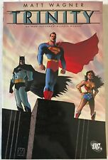 Trinity by Dave Stewart and Matt Wagner 2005 Paperback DC Comics BATMAN Superman