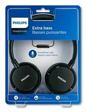 Philips® Wired On-Ear Headphone with Mic - Black