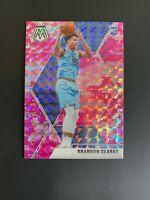 Brandon Clarke 2019-20 Panini Mosaic Pink Camo Prizm #207 Rookie Card RC NBA