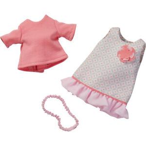 Puppenkleidung Kleiderset Sommertraum für Haba Puppen 30 cm  3-teilig