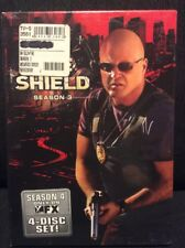 The Shield  Third Season 3 Full Screen DVD 2005 4-Disc Set Chiklis Dent NEW