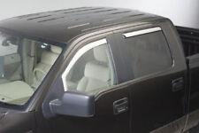 Putco 480111 Chrome Trim Window Visor - Ford F-150 - 2004-2012 - FRONT ONLY