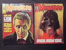 1974/76 FAMOUS MONSTERS OF FILMLAND Magazine #105 VG #123 VG+ Christopher Lee