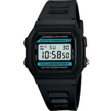 Casio Men's W-86-1VQES Black Digital Resin Strap Watch Bargain Deal RRP £25.00