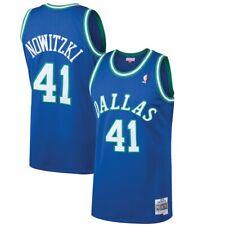 Dirk Nowitzki Dallas Mavericks Mitchell Ness 1998-99 деревянные классические Nba Jersey