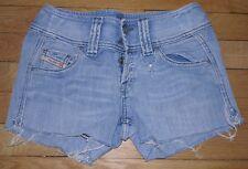 DIESEL Short en Jeans Femme W 24  Taille Fr 34 (Réf # S025)