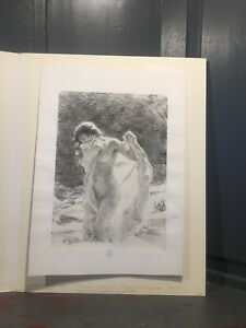 Original Alphonse Etienne Dinet (1861-1929) Lithograph French