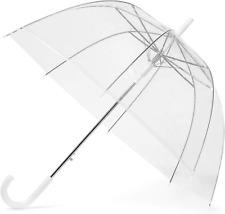 GadHome Transparent Umbrella | Large 85cm Clear See Through Dome Umbrellas for |