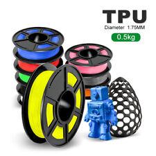 BELIVEER 3D-Drucker Filament 1,75 mm 1,1 lbs TPU Mehrfarbenfarbe mit Zähigkeit