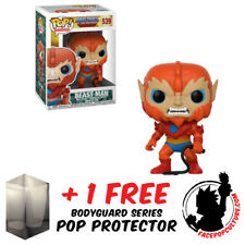FUNKO POP MASTERS OF THE UNIVERSE BEAST MAN VINYL FIGURE + FREE POP PROTECTOR
