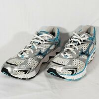 Mizuno Wave Inspire 7 Running Shoes, Women Sz 8 W, Teal Blue White Silver 410427